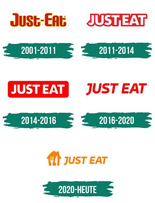 Just Eat Logo Geschichte