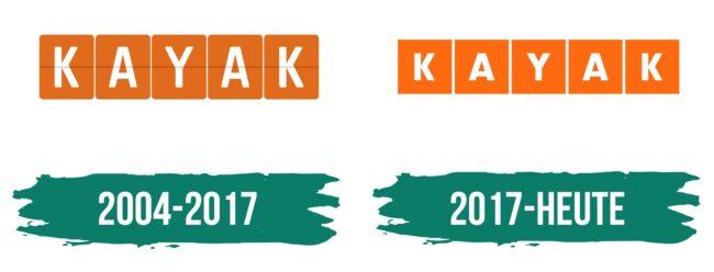 Kayak Logo Geschichte