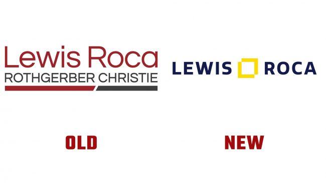 Lewis Roca Neue und alte Logo-Geschichte