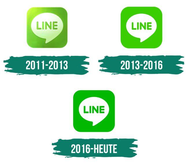Line Logo Geschichte