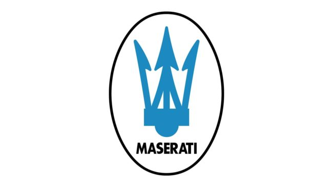 Maserati Logo 1983-1985