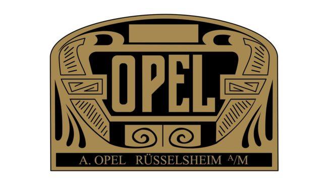 Opel Logo 1906-1909