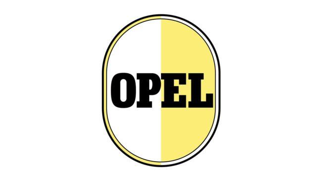 Opel Logo 1950-1951