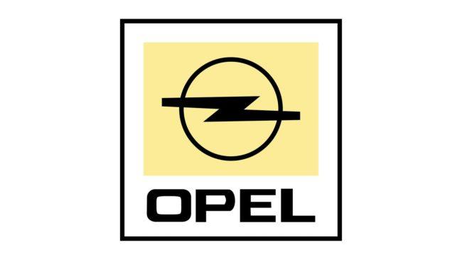 Opel Logo 1987-2002