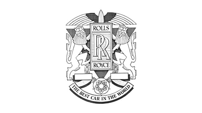 Rolls-Royce Motor Cars Logo 1911-1934