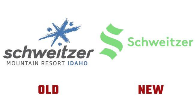 Schweitzer Neues und Altes Logo (Geschichte)