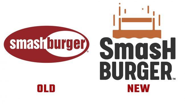 Smashburger Neue und Alte Logo Geschichte