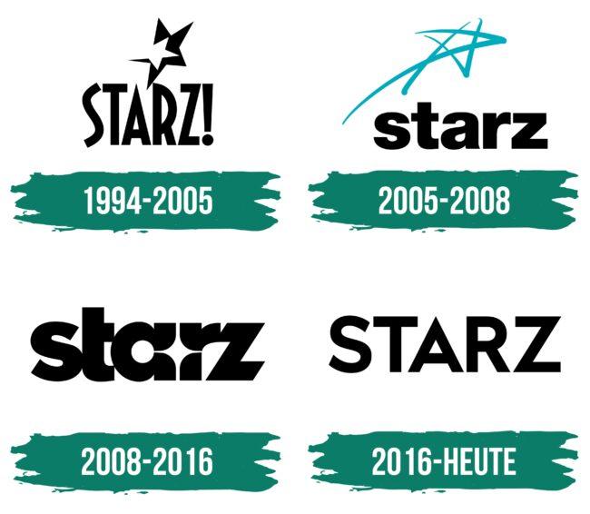 Starz Logo Geschichte