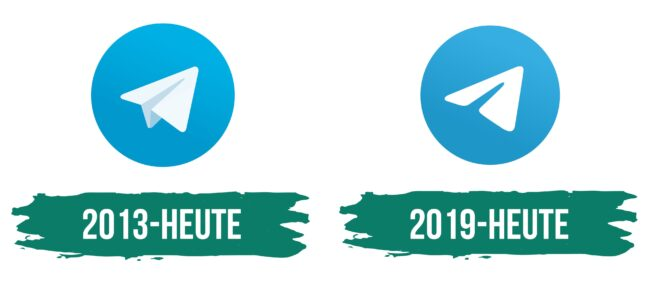 Telegram Logo Geschichte