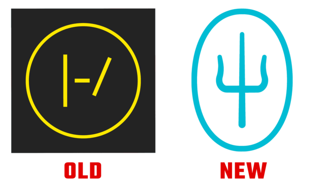 Twenty One Pilots alte und neues Logo