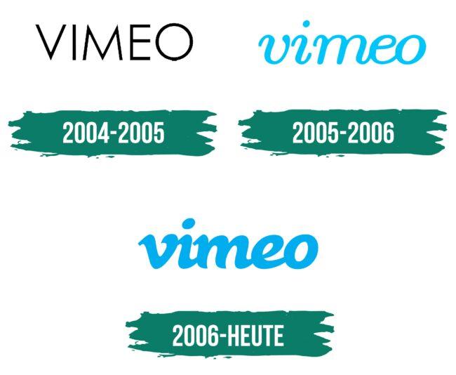 Vimeo Logo Geschichte