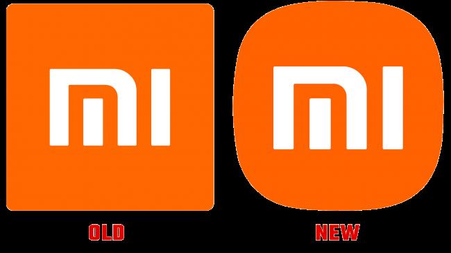 Xiaomi alte und neue Logo Geschichte