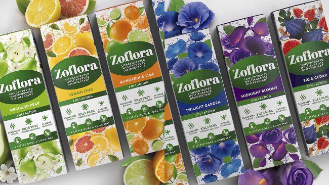 Zoflora Reveals Logo