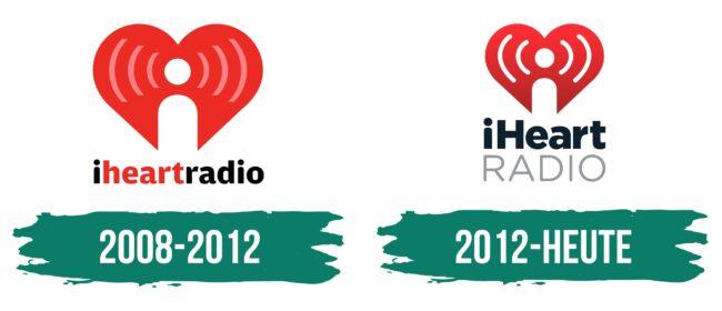 iHeartRadio Logo Geschichte