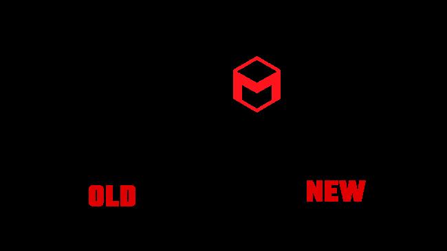 Maxon Neues und Altes Logo (Geschichte)