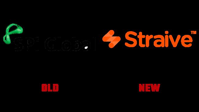 Straive Logo und SPi Global Altes und Neues Logo (Geschichte)