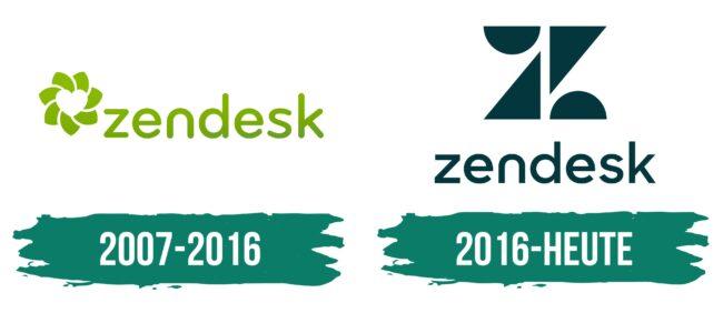 Zendesk Logo Geschichte