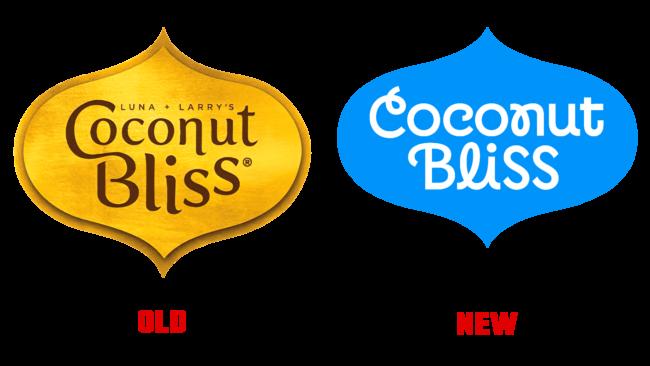 Coconut Bliss Altes und Neues Logo (Geschichte)