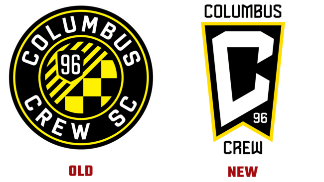 Crew Alte und Neue Logo (Geschichte)