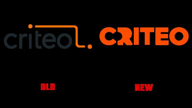 Criteo Altes und Neues Logo (Geschichte)