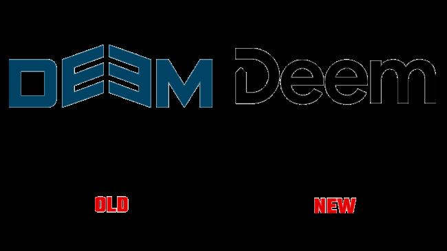 Deem Altes und Neues Logo (Geschichte)