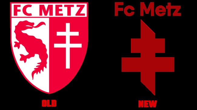 FC Metz Altes und Neues Logo (Geschichte)