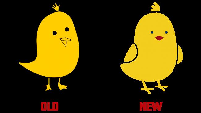 Koo Altes und Neues Logo (Geschichte)