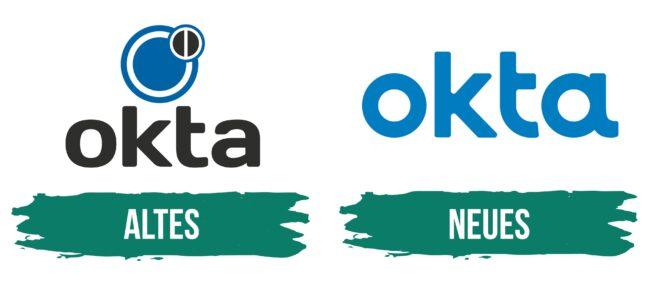 Okta Logo Geschichte