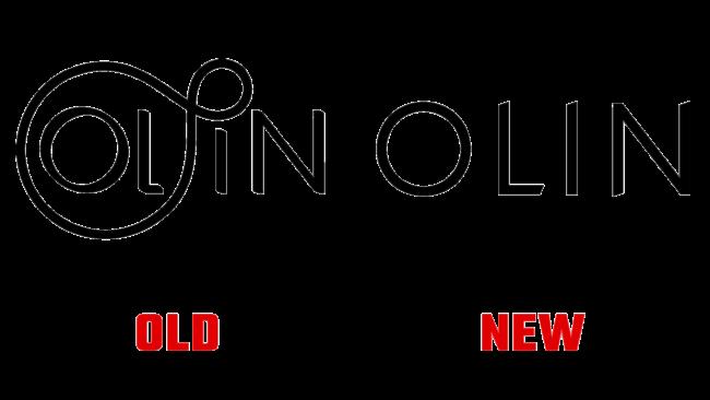 Olin Altes und Neues Logo (Geschichte)