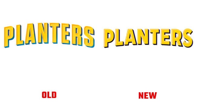 Planters Altes und Neues Logo (Geschichte)