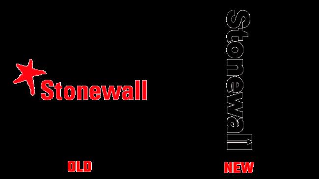 Stonewall Altes und Neues Logo (Geschichte)