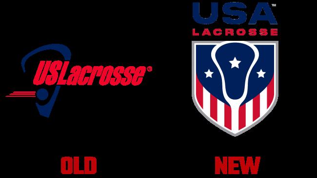 USA Lacrosse Altes und neues Logo (Geschichte)