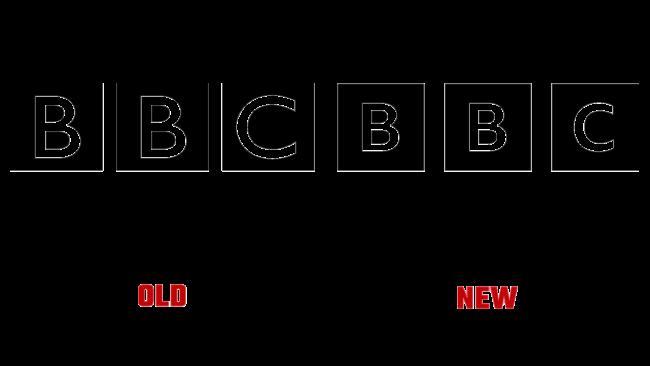 BBC Alte und Neue Logo (Geschichte)