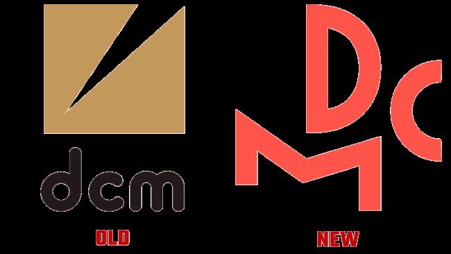 DCM Alte und Neue Logo (Geschichte)