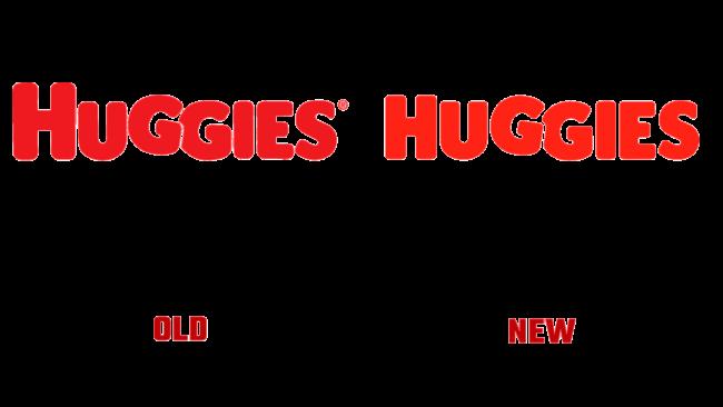 Huggies Altes und Neues Logo (Geschichte)