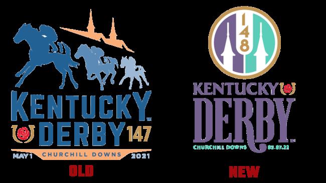 Kentucky Derby Altes und Neues Logo (Geschichte)