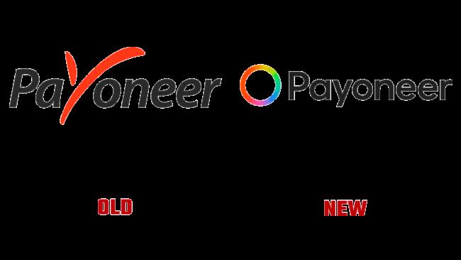 Payoneer Altes und Neues Logo (Geschichte)