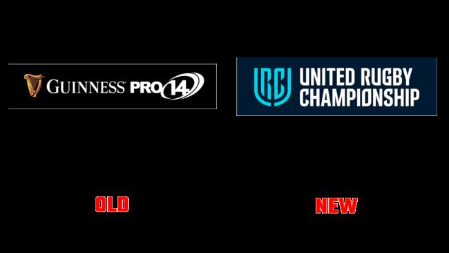 United Rugby Championship (URC) Altes und Neues Logo (Historie)