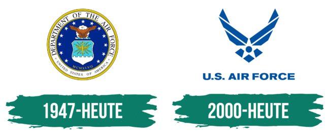 Air Force Logo Geschichte