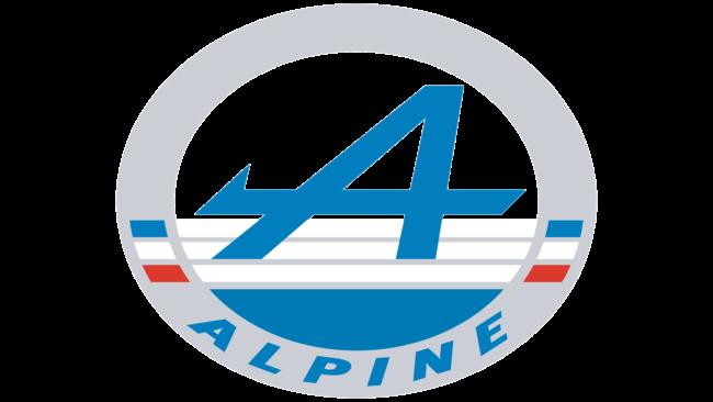 Alpine Logo 1976-2017