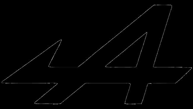 Alpine Zeichen
