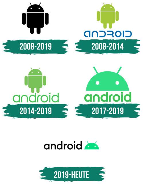 Android Logo Geschichte