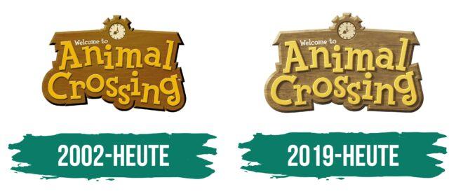 Animal Crossing Logo Geschichte