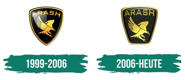 Arash Logo Geschichte