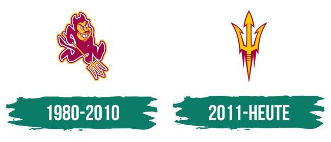 Arizona State Sun Devils Logo Geschichte