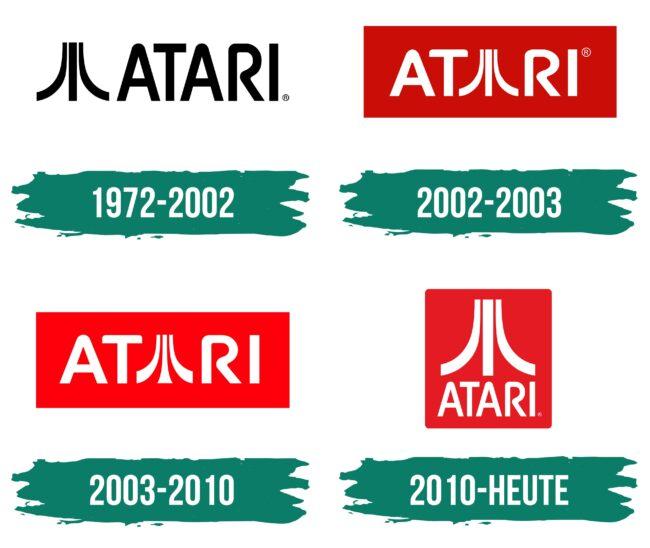 Atari Logo Geschichte
