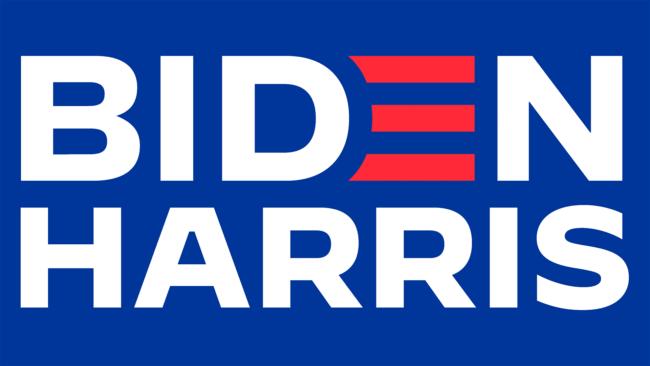 Biden Harris Zeichen