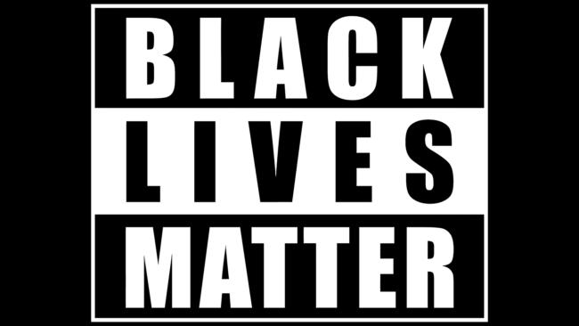 Black Lives Matter Zeichen