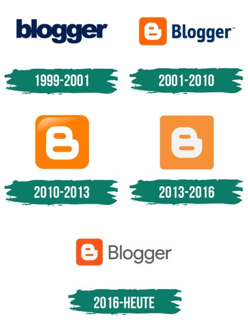 Blogger Logo Geschichte