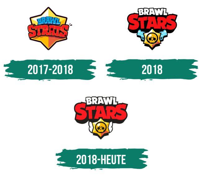 Brawl Stars Logo Geschichte